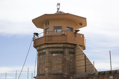 Prison Guard Tower. In Colorado, USA stock photography