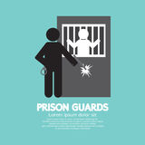 Prison Guards Symbol. Royalty Free Stock Images