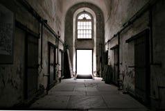 prison Hallway Stock Photo