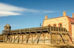 Prison historique Photo libre de droits