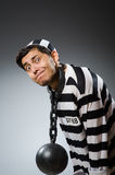 Prison inmate Royalty Free Stock Photos