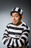 Prison inmate in funny Stock Images