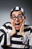 Prison inmate in funny Stock Photos