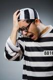 Prison inmate in funny Stock Photo