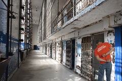 Prison Inmate in Handcuffs Royalty Free Stock Images