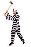 Prison inmate isolated Stock Images
