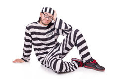 Prison inmate isolated Stock Photos