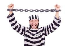 Prison inmate Stock Photo