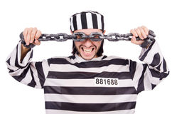 Prison inmate Stock Images