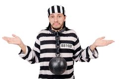 Prison inmate Stock Image