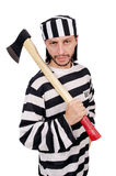 Prison inmate Royalty Free Stock Image