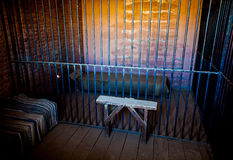 Prison Interior Royalty Free Stock Photography