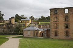 Prison Port Arthur, Tasmania, Australia Stock Photos
