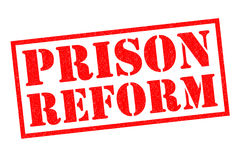 PRISON REFORM. Red Rubber Stamp over a white background Royalty Free Stock Image