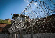 Prison security facilities Stock Photos