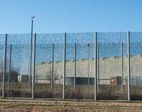Prison Security Fence Stock Photos