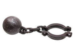 Prison Shackle Stock Image