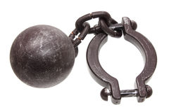Prison Shackle Royalty Free Stock Photo