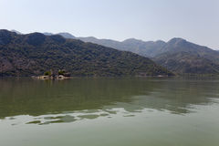 Prison in the Skadar Lake Stock Photo