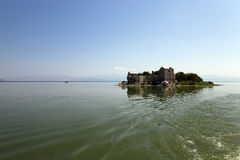Prison in the Skadar Lake Royalty Free Stock Photography