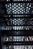 Prison staircase Royalty Free Stock Photography