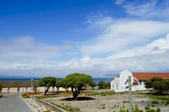 Prison sur l'île de Robben - Cape Town photos libres de droits