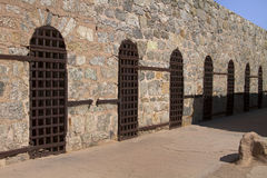 Prison territoriale de l'Arizona dans Yuma, Arizona, Etats-Unis Image stock