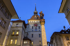 The Prison Tower in Bern, Switzerland Royalty Free Stock Photo