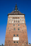 Prison Tower in Gdansk. The Prison Tower historic landmark in Gdansk (Danzig), Poland stock photo
