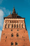 Prison Tower in Gdansk, Poland Stock Photos