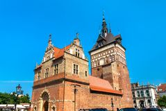 Prison Tower and Torture House in Gdansk, Poland. Prison Tower and Torture House in the old town of Gdansk, Poland royalty free stock photo