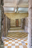 Prison of Tuol Sleng Genocide Museum at Phnom Penh Stock Photos