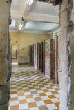 Prison of Tuol Sleng Genocide Museum at Phnom Penh Stock Image