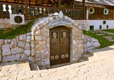 Prison in village Drvengrad Mecavnik - Serbia Stock Photos