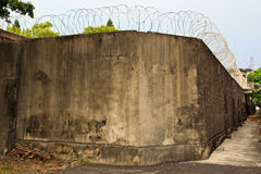 Prison walls Stock Images