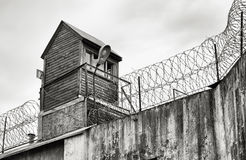 Prison wall. Stock Images