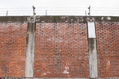 Prison walls Royalty Free Stock Image