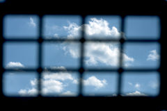 Free Prison Window Royalty Free Stock Image - 32056866