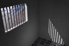 Prison window Stock Images
