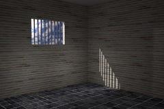 Prison window Royalty Free Stock Photo