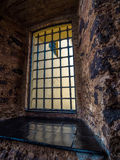 Prison window Royalty Free Stock Images