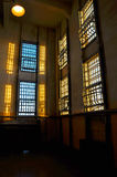 Prison Windows Image stock