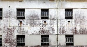 Prison windows Royalty Free Stock Photos