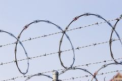 Prison wire Stock Photos