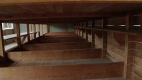 A Prison Wooden Bunks