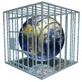 Prisoned Erde Lizenzfreies Stockfoto