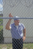 Prisoner. At Dade County Correctional Facility, FL Stock Photography
