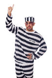 Prisoner with bad bruises Royalty Free Stock Photos