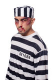 Prisoner with bad bruises Stock Photos