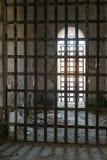 Yuma Territorial Prison, stark cells. Prisoner cells at the historic Yuma Territorial Prison, Yuma, Arizona Stock Photos